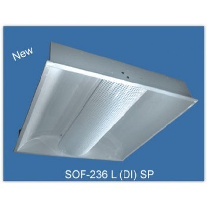 Softlight-Recessed Direct Indirect Fixture (Square Perforated) - Commercial Luminaires | Commercial Luminaires | Scoop.it