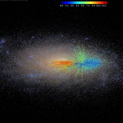 Milky Way growth chart reveals how galaxy evolved | Amazing Science | Scoop.it