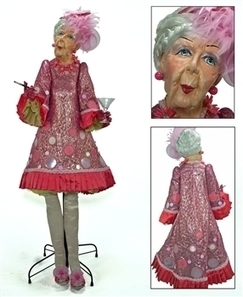 Katherine's Collection 2015 - Rose Champagne - Collectable Doll Display   Buy Christmas Decorations   Christmas Table Displays   Scoop.it