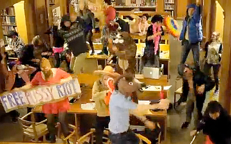 Oxford librarian sacked over Harlem Shake at St Hilda's College  - Telegraph | 21st Century School Libraries are Cool! | Scoop.it