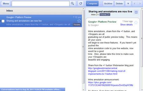 Offline Gmail, Google Calendar and Google Docs | Google Sphere | Scoop.it