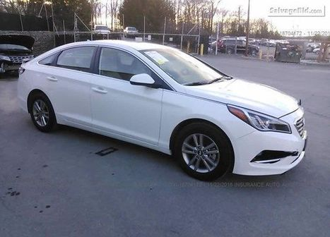 2017 HYUNDAI SONATA on online auction  | Salvage Auto Auction | Scoop.it