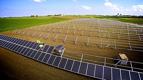 Iowa's largest solar farm in operation | safe and sustainable energy | Scoop.it