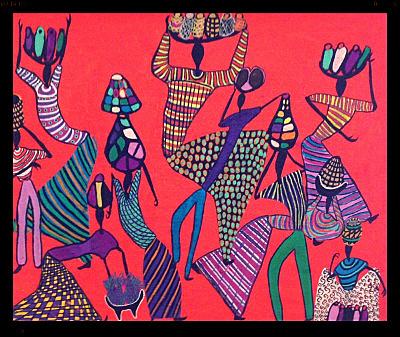Signé Peintres de Poto-Poto, au Centre Pompidou - Africa4 | bambou148 | Scoop.it