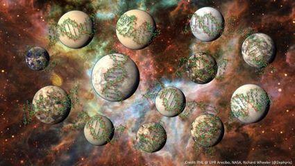 100 millions de planètes de la Galaxie compatibles avec une vie complexe | Mars et astronomie | Scoop.it