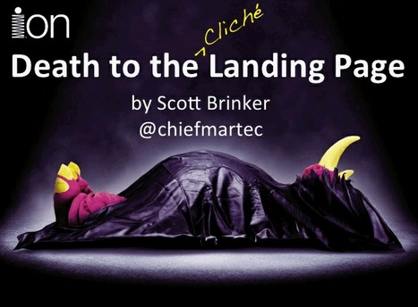 Death To The Cliché Landing Page | Landing Page World | Scoop.it