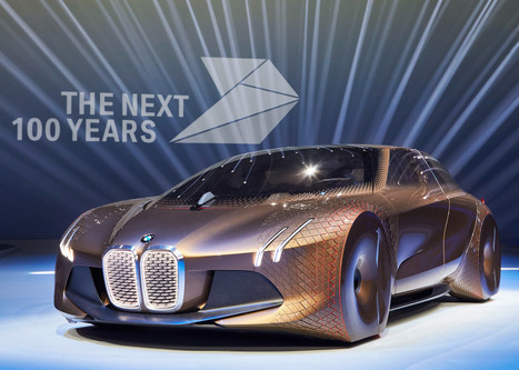 BMW unveils shape-shifting concept car Next 100 | Scoopamo awesome | Scoop.it