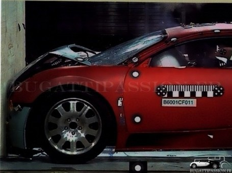 Crash-test Bugatti Veyron : Les photos exclusives et inédites | Crash test | Scoop.it