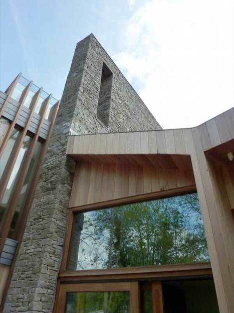 Ty-Hedfan House In The Welsh Hills | sustainable architecture | Scoop.it