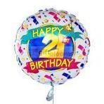 21st Birthday Four Balloon   balloons delivery USA   Scoop.it