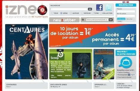 BD numérique : Izneo lance un abonnement bibliothèque et médiathèque | BiblioLivre | Scoop.it