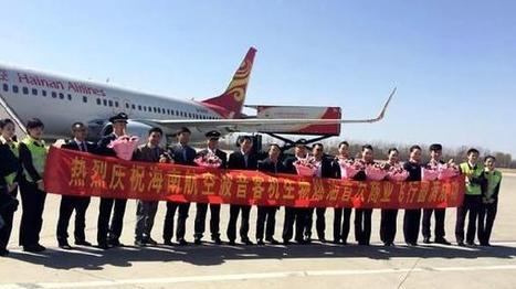 Boeing китайской Hainan Airlines долетел из Шанхая в Пекин на смеси керосина и подсолнечного масла | Global politics | Scoop.it
