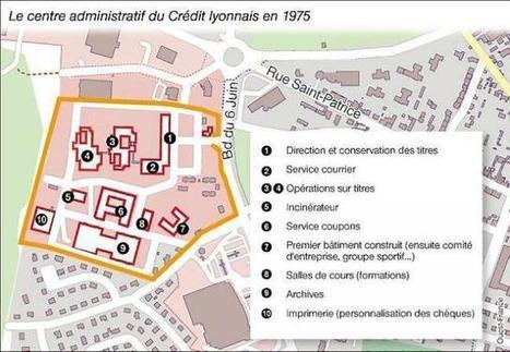 Il y a 50 ans, le Crédit lyonnais s'installait à Bayeux (14) | Ouest France Entreprises | Que s'est il passé en 1963 ? | Scoop.it