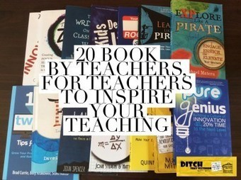 20 books by teachers, for teachers to inspire your teaching | Technology in Education | Scoop.it