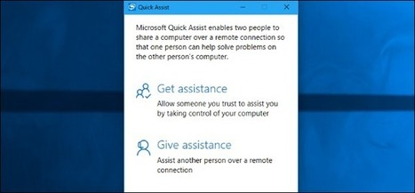 """How to Use Windows 10's """"Quick Assist"""" to Remotely Troubleshoot a Friend's PC 