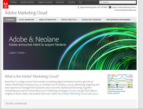 Adobe drops $600M on Neolane as marketing craze rages on unabated | All About Marketing Operations | Scoop.it