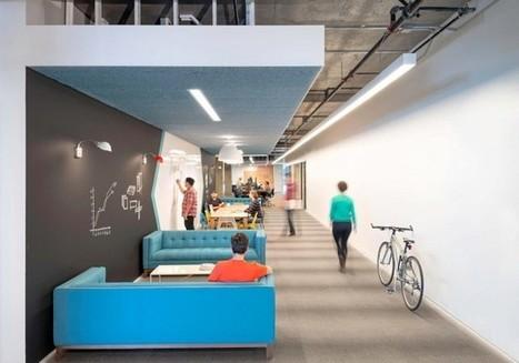 Cisco-Meraki Office by Studio O+A » CONTEMPORIST | bureau : espace innovant | Scoop.it