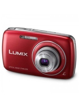 Panasonic Lumix DMC-S3 14.1 MP Digital Camera with 4x Optical Image Stabilized Zoom with 2.7-Inch LCD (Red) - Shop and Buy Online at Best prices in India. | Buy Camera Online | Camera Price | Camers | Panasonic Camera | Scoop.it