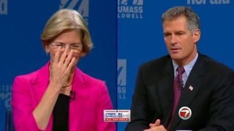 Scott Brown Got a Little Testy in His Debate with Elizabeth Warren | Massachusetts Senate Race 2012 | Scoop.it
