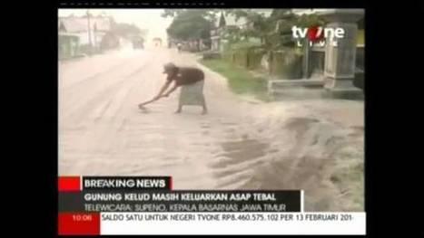Más de 200.000 evacuados por la erupción del volcán Kelud en Indonesia | Noticias CTM (tercera evaluación) | Scoop.it