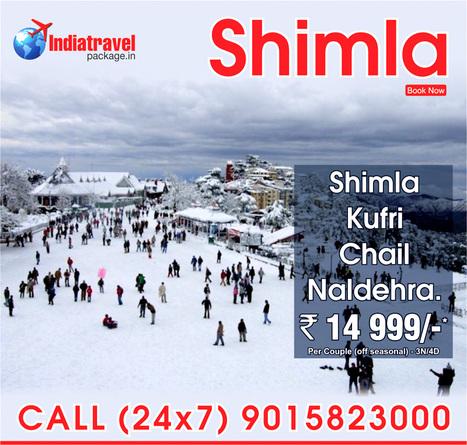 Shimla tour package from Noida - Delhi | travel agent | Scoop.it