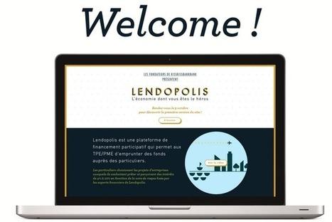 Lendopolis : plateforme de financement participatif pour PME et start-ups | Crowdfunding, financement participatif, investissement | Scoop.it