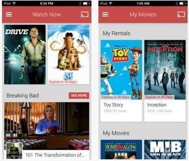 Les films et séries TV Google Play désormais lisibles sur iPhone et iPad - iPhone 5s, 5c, iPad, iPod touch : le blog iPhon.fr | ReScoop | Scoop.it