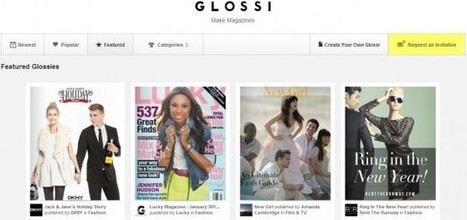 Glossi, para diseñar revistas digitales, ya en beta pública | PLE-PLN | Scoop.it
