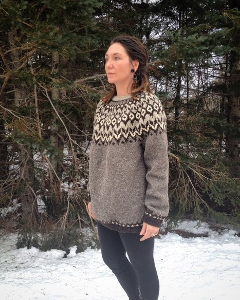 FO Friday – Riddari | Spinning, Weaving and Knitting | Scoop.it
