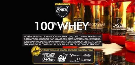 MTX Nutrition-Proteina en polvo whey | El Blog de Kal20010 | Mobile Apps Design and Development | Scoop.it