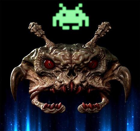 Space Invaders in real life | Cabinet de curiosités numériques | Scoop.it
