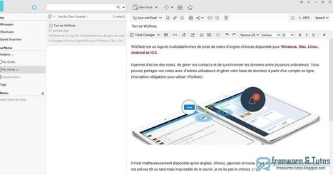 WizNote : une alternative à Evernote | Geeks | Scoop.it