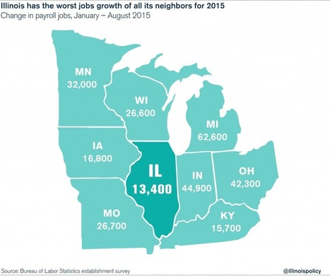 Illinois job creation lagging, factory job losses continue, new federal ... - Reboot Illinois | Illinois Legislative Affairs | Scoop.it