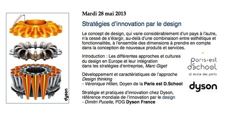 Stratégies d'innovation par le design - Mardis de l'Innovation - 28 mai 2013 18h15-20h45 - à La Sorbonne | Weekly agenda of events for innovation - Paris | Scoop.it