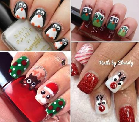 Loads of Cool Christmas Nail Art Ideas are Here   Stylish Board   Scoop.it
