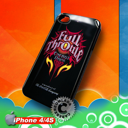 Full Throttle Energy Drink iPhone 4 4S Case for sale | Customizable Smart Phone Cases | Scoop.it