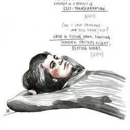 Susan Sontag on Love: Illustrated Diary Excerpts | random pieces of wisdom | Scoop.it