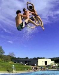 Le Slip 'N Fly, nouvelle manière de s'amuser à la piscine | Piscine, natation | Scoop.it