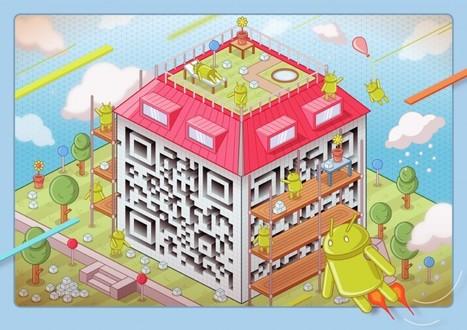 40+ Epic QR Code Art | Using QR Codes | Scoop.it