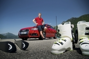 Audi A4 2.0 TDI Ultra & Alexis Pinturault | Ski, sports de glisse, insolite et buzz | Scoop.it