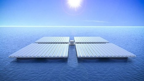 Giant wave-riding platform design puts solar power out to sea | Real Estate Plus+ Daily News | Scoop.it
