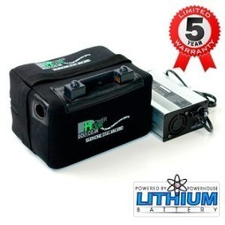 Why Buy Lithium Golf Battery? | Power House Golf | Golf Trolleys | Scoop.it