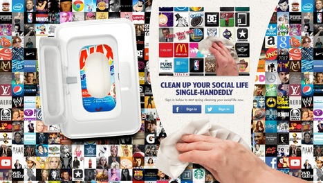 [Etude de cas] Ajax nettoie même vos réseaux sociaux avec SocialWipes !   Social Media Curation par Mon Habitat Web   Scoop.it