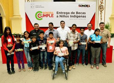 Entregó Miguel Pompa becas a estudiantes de comunidades indígenas de la etnia Guarijío | Sonora | Scoop.it