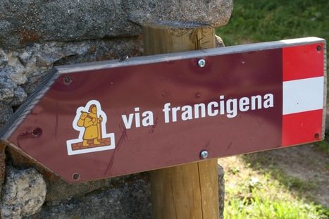 Map and itinerary of Via Francigena in Tuscany - My Travel in Tuscany | Vacanza In Italia - Vakantie In Italie - Holiday In Italy | Scoop.it