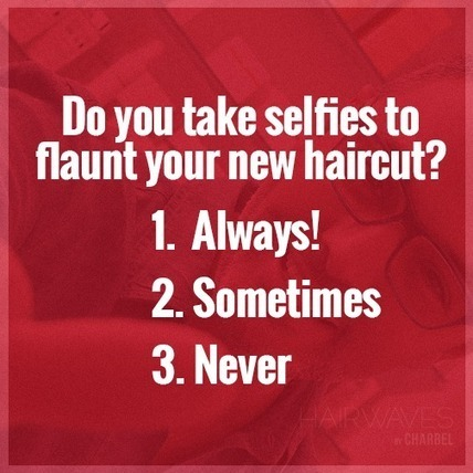Do you take selfies to flaunt your new haircut? | Latest And Trendiest Hairstyling Techniques | Scoop.it