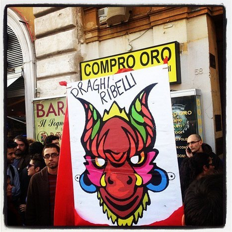 Photos de Draghi Ribelli | Facebook | #OccupyItaly -11 novembre - | Scoop.it