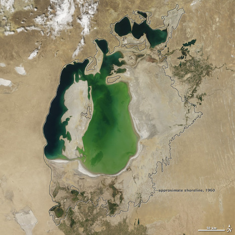 World of Change: Shrinking Aral Sea : Feature Articles | Geo news | Scoop.it