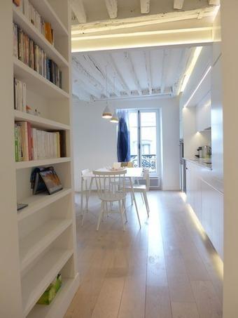 Avant/après : design chic pour un séjour avec cuisine ouverte - CôtéMaison.fr | LM - Déco | Scoop.it