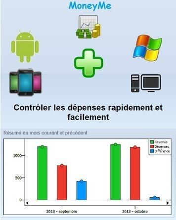 Logiciel financier multi comptes gratuit MoneyMe Fr 2013 licence gratuite Windows et Android | Techno | Scoop.it